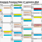 Le calendrier de nos evenements est en ligne